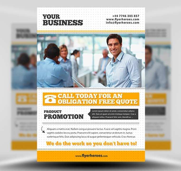 93 Standard Business Flyer Template Free Formating for Business Flyer Template Free