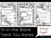 93 Standard Fill In The Blank Thank You Card Template Now with Fill In The Blank Thank You Card Template