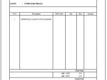 93 Standard Invoice Format Excel Gst Download with Invoice Format Excel Gst