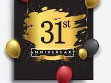 93 The Best 31St Birthday Card Template by 31St Birthday Card Template