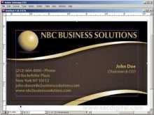 Business Card Templates Indesign