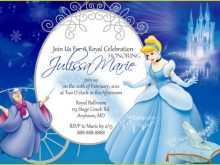 93 The Best Cinderella Birthday Card Template for Ms Word for Cinderella Birthday Card Template
