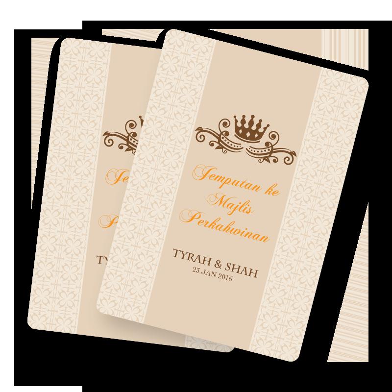 Template Kad Kahwin Cards Design Templates