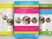 93 Visiting Daycare Flyer Templates Formating with Daycare Flyer Templates