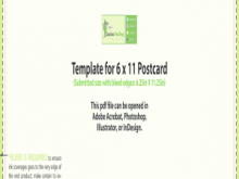 94 6X11 Postcard Template Indesign Formating with 6X11 Postcard Template Indesign