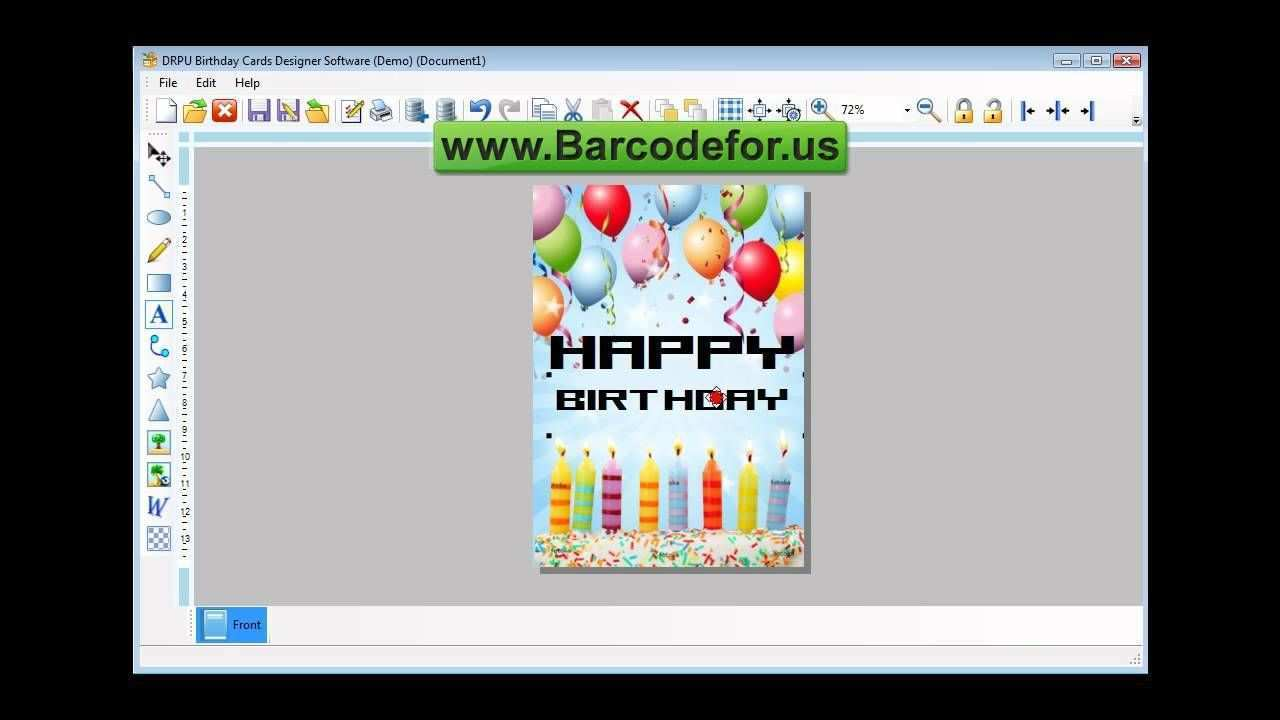3 Adding Birthday Invitation Card Template Vector Coreldraw in