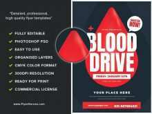94 Adding Blood Drive Flyer Template With Stunning Design with Blood Drive Flyer Template