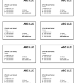 94 Adding Business Card Template Xls With Stunning Design by Business Card Template Xls