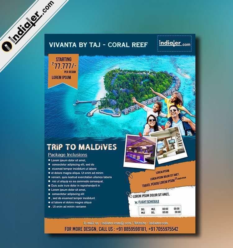 94 Best Travel Flyer Template Now for Travel Flyer Template