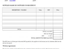 94 Blank Australian Tax Invoice Template No Gst PSD File by Australian Tax Invoice Template No Gst