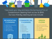 94 Blank Commercial Cleaning Flyer Templates For Free by Commercial Cleaning Flyer Templates