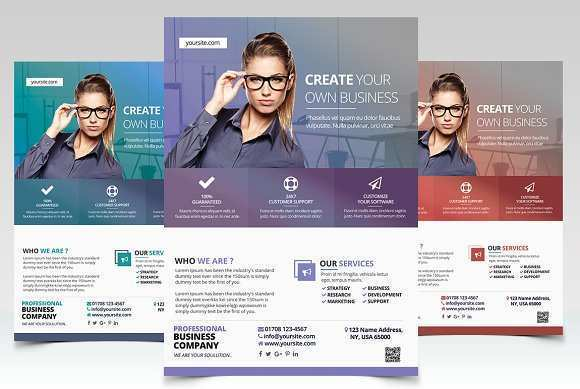 94 Create Business Flyer Template in Photoshop by Business Flyer Template