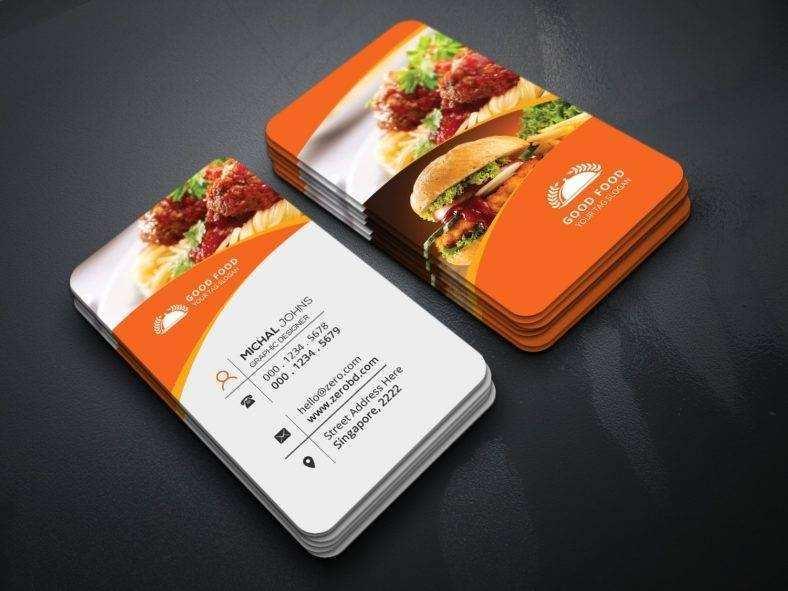 94 Creating Business Card Template Restaurant Download by Business Card Template Restaurant
