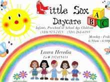 94 Creating Daycare Flyer Templates PSD File with Daycare Flyer Templates