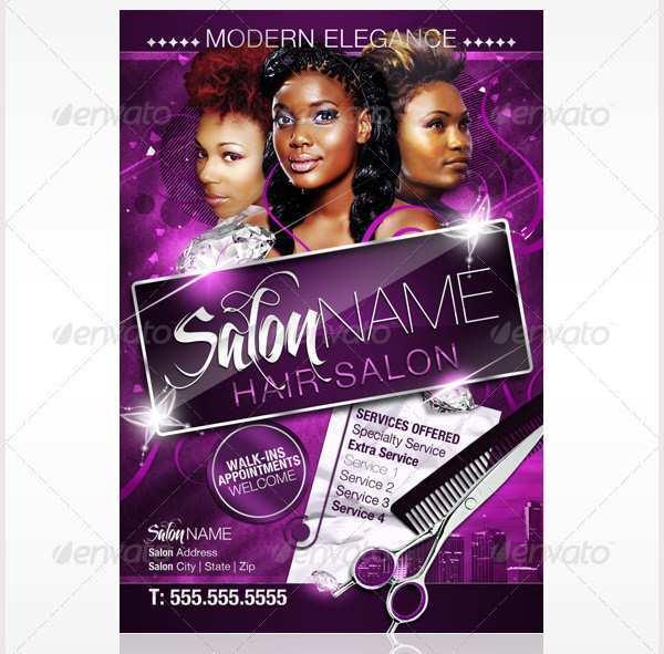 94 Creative Beauty Salon Flyer Templates Free for Ms Word for Beauty Salon Flyer Templates Free