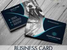 Business Card Template Graphic Design