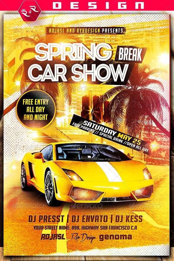 94 Creative Car Show Flyer Template Word Photo for Car Show Flyer Template Word