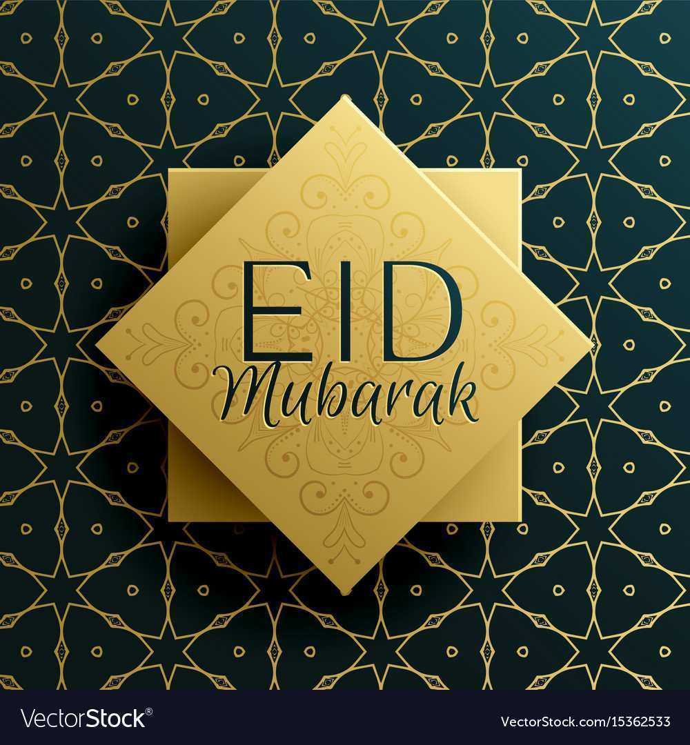 94 Creative Free Eid Mubarak Card Templates With Stunning Design For Free Eid Mubarak Card Templates Cards Design Templates
