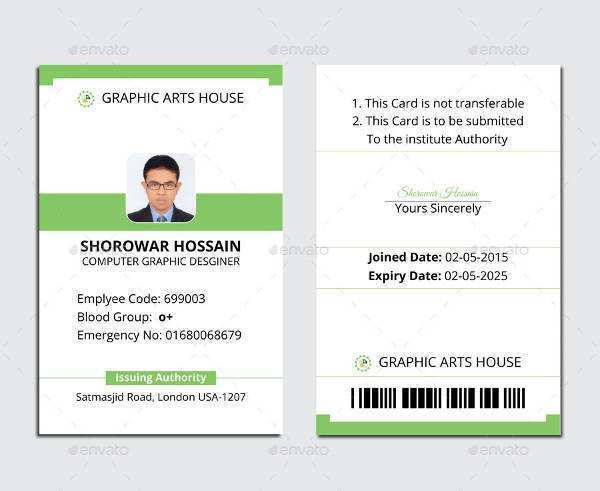 94 Creative Temporary Id Card Template Templates For Temporary Id Card Template Cards Design Templates