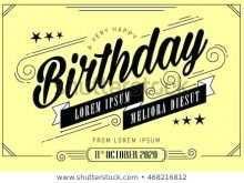 Guitar Birthday Card Template