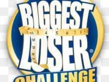 94 Format Biggest Loser Flyer Template in Photoshop by Biggest Loser Flyer Template