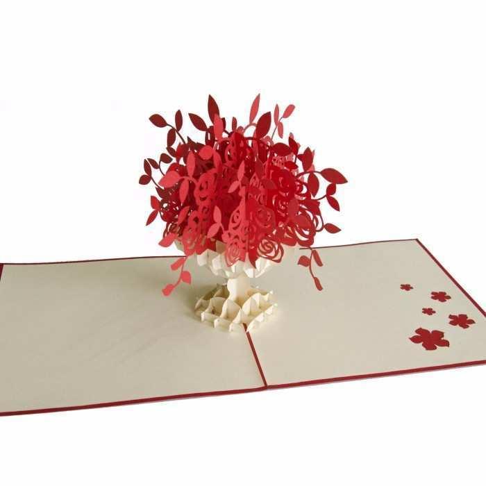 3d flower pop up card tutorial stepstep  cards design