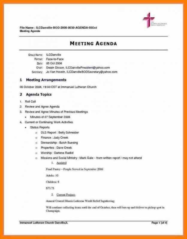 94 Free Printable Church Conference Agenda Template With Stunning Design by Church Conference Agenda Template