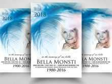 94 Free Printable Memorial Flyer Template Download by Memorial Flyer Template