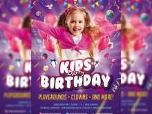 94 How To Create Birthday Party Invitation Flyer Template Download with Birthday Party Invitation Flyer Template