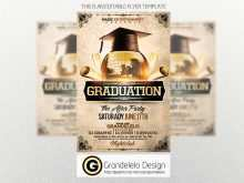94 How To Create Graduation Party Flyer Template Templates with Graduation Party Flyer Template