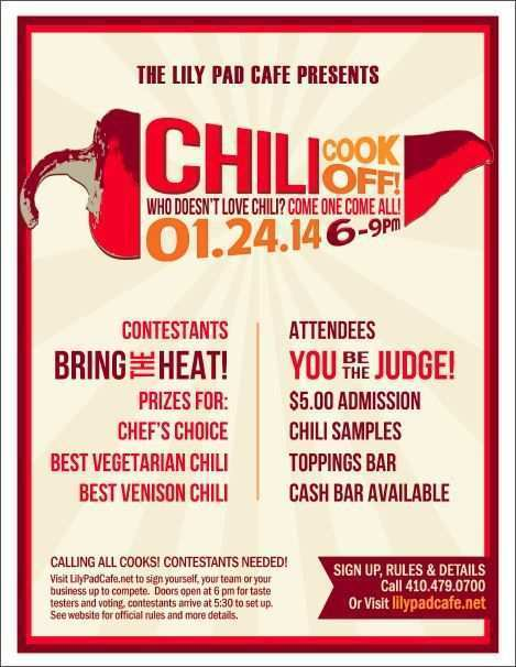 94 Report Chili Cook Off Flyer Template Free Maker For Chili Cook Off Flyer Template Free Cards Design Templates