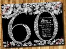 94 Standard 70Th Birthday Card Template Free in Word with 70Th Birthday Card Template Free
