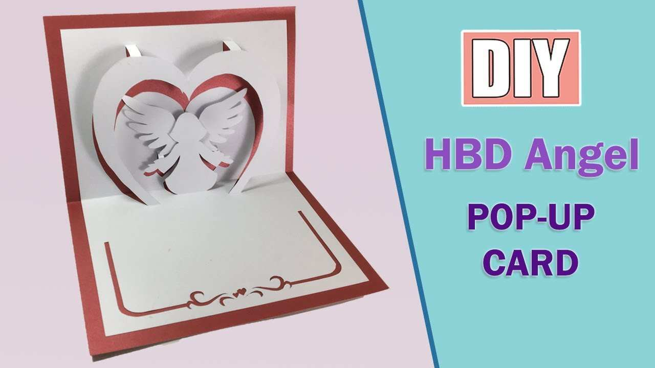 94 Visiting Angel Pop Up Card Template for Angel Pop Up Card Template