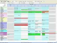 Production Planning Template Excel Free