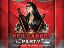 95 Adding Red Carpet Flyer Template Free Formating for Red Carpet Flyer Template Free