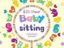 95 Blank Babysitting Flyer Free Template For Free with Babysitting Flyer Free Template