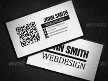 95 Blank Business Card Templates With Qr Code Photo for Business Card Templates With Qr Code