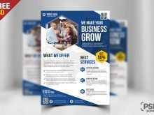 95 Blank Free Business Flyer Template Psd PSD File with Free Business Flyer Template Psd
