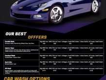 95 Create Car Detailing Flyer Template Download by Car Detailing Flyer Template