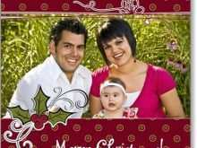 95 Create Christmas Card Templates With Picture Insert Download by Christmas Card Templates With Picture Insert