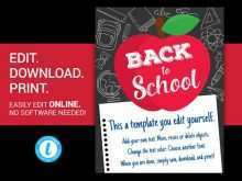 95 Creating Back To School Supply Drive Flyer Template Download for Back To School Supply Drive Flyer Template