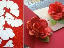95 Creating Flower Pop Up Card Template Free Download Photo by Flower Pop Up Card Template Free Download