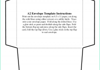95 Creative A6 Card Template For Word Maker with A6 Card Template For Word