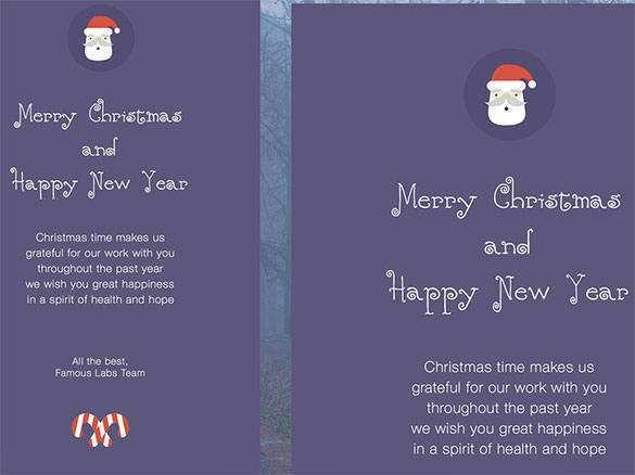 95 Creative Christmas Card Template Html Layouts by Christmas Card Template Html