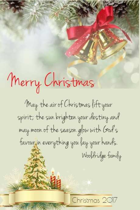 95 Creative Christmas Card Template Text Layouts for Christmas Card Template Text