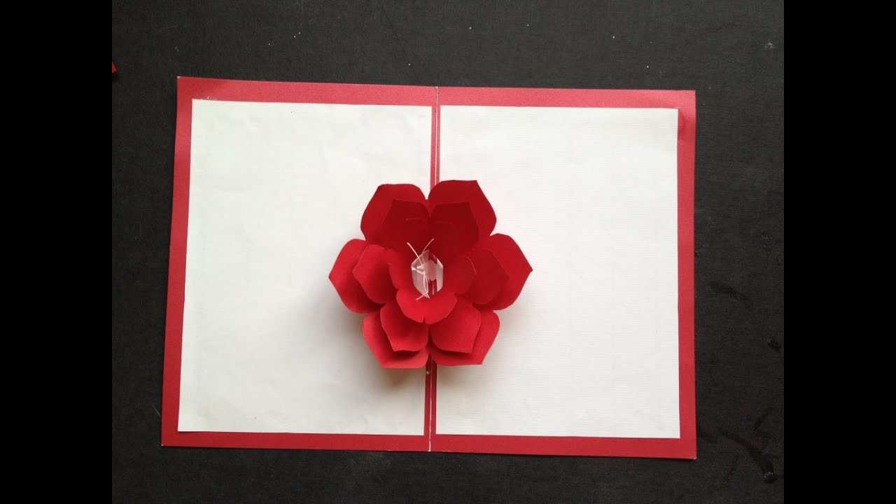 95 Creative Flower Card Templates Youtube Now for Flower Card Templates Youtube