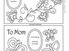 95 Creative Mothers Day Card Templates Templates by Mothers Day Card Templates