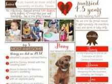 95 Customize Christmas Card Newsletter Template For Free for Christmas Card Newsletter Template