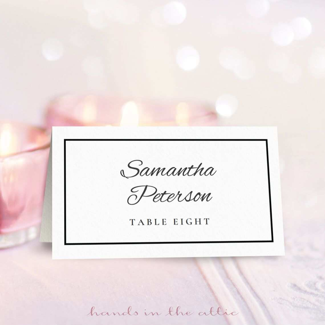 95 Customize Name Cards For Tables Template Free Now for Name Cards For Tables Template Free