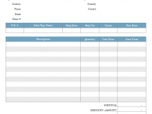 Gst Invoice Template Xls